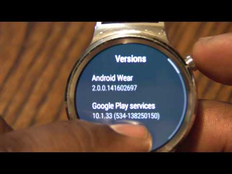 Huawei Watch - Android Wear 2.0 Installed - Don