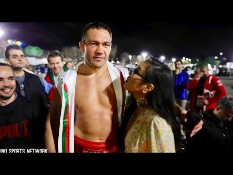 UNSEEN FOOTAGE: KUBRAT PULEV MOMENTS BEFORE KISSING REPORTER JENNY SUSHE