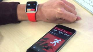 Zombies, Run! on Apple Watch