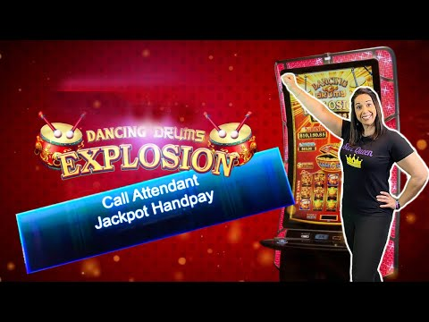 JACKPOT HANDPAY On Dancing Drums Explosions !! That Was HOT !!
