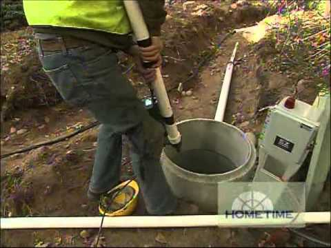 Log Cabin Septic System Youtube