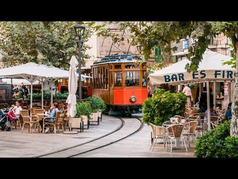 Mallorca Soller Straßenbahn Tren de Soller Mallorca Soller Tram