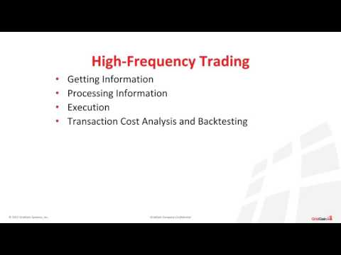 Driving High Frequency Trading and Compliance with In Memory Computing