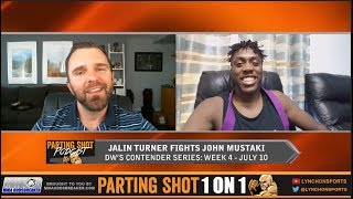 "Jalin Turner talks Contender Series debut July 10,  Earning his Purple Belt & ""Call of Duty"""