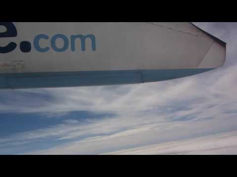 FLYBE Dash 8 Q400 - Liverpool to Belfast City (Full Flight + Cabin)