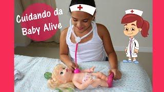 Baby Alive comilona vai ao médico!