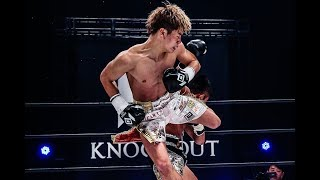 "KNOCK OUT Vol.0  ""Japanese Genius Kickboxer"" Tenshin Nasukawa vs  Wanchalong PK Saenchai gym"