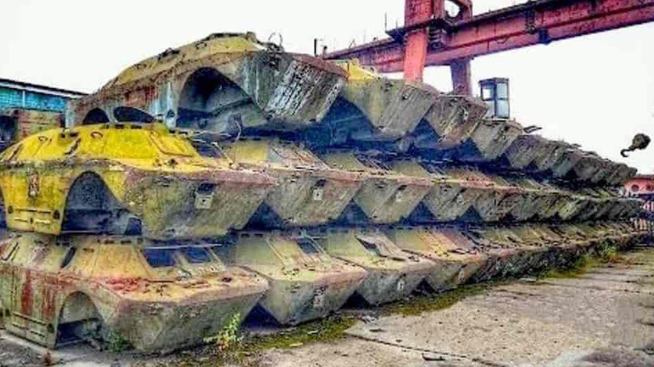 करोडो रूपये के साधन ऐसे ही क्यों सड़ रहे है | 6 Most Amazing Abandoned Vehicle (Abandoned Technology)