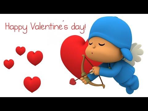 Pocoyo - Schönen Valentinstag