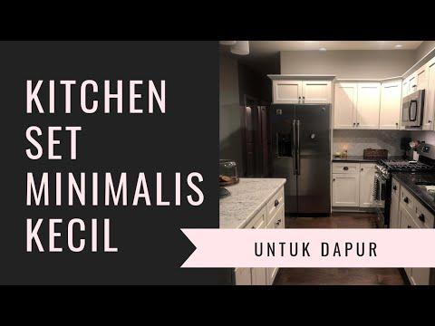 Wa 0812 8606 6416 Kitchen Set Minimalis Untuk Dapur Kecil Youtube