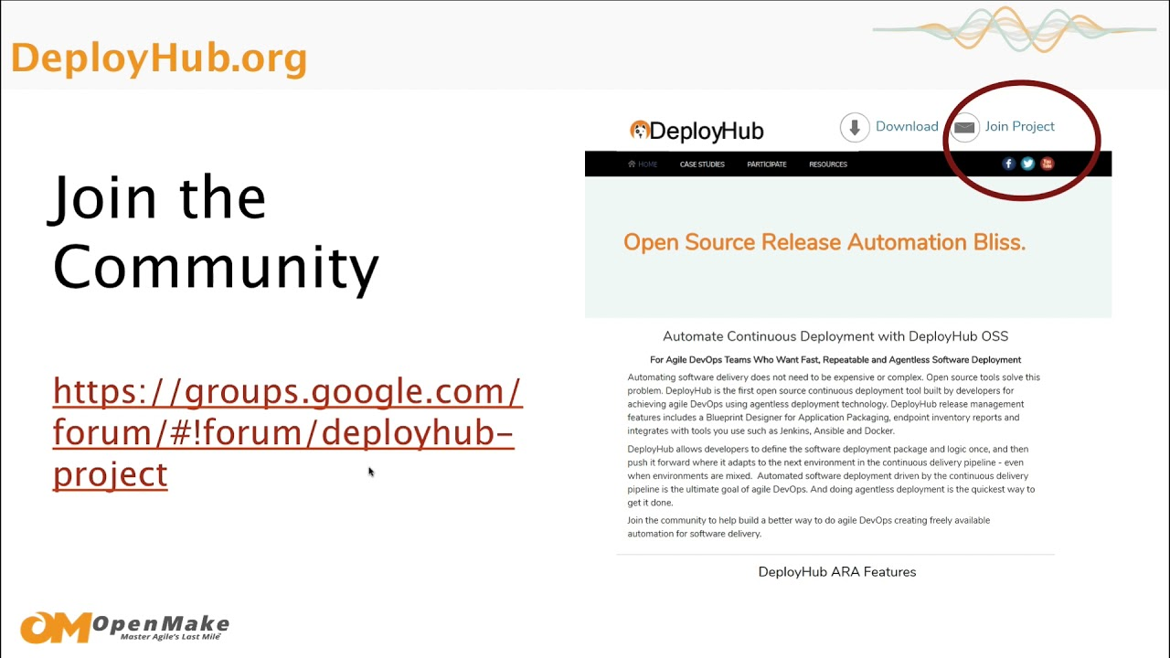 Openmake software using deployhub for continuous deployment in a openmake software using deployhub for continuous deployment in a jenkins pipeline malvernweather Gallery