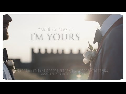 I'M YOURS ♡ Gay Wedding Movie • Lake Garda, Italy
