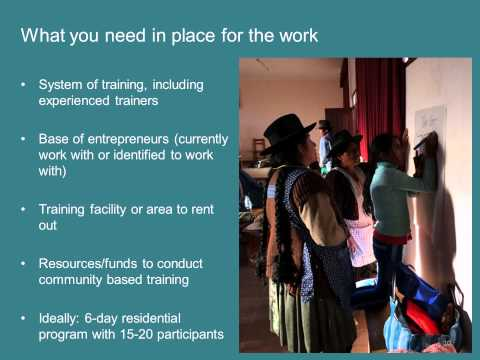 New Partner Webinar: Empowered Entrepreneur Training Handbook Jun 25, 2015