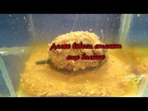 Liquid ТМ Greedy Fish взаимодействие с прикормками