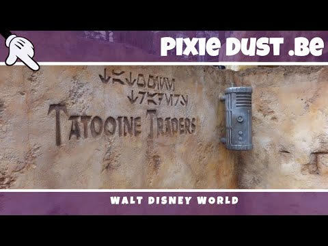 Star Wars TATOOINE TRADERS Disney's Hollywood Studios   Walt Disney World 2017