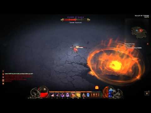 Demon Hunter soloing Nmare Diablo (lvl 49)