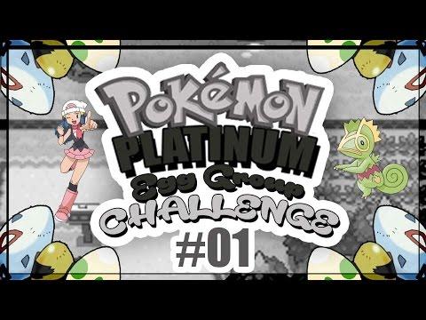 "Pokemon Platinum Randomized Egg Group Challenge Ep.1 ""Revolutionary"""