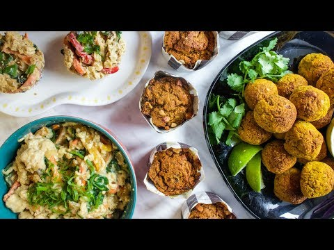 6 FREEZER FRIENDLY RECIPES | VEGAN & HEALTHY ��