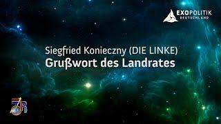 Grußwort des Landrates - Siegfried Konieczny (DIE LINKE)
