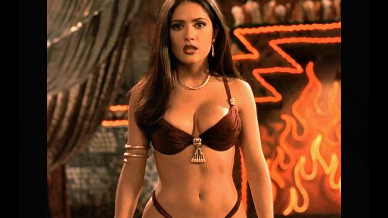 For hot salma hayek naked