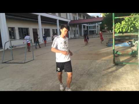 NPIC Dormitory Students - Old Stadium Street Football - Khmer Play Soccer
