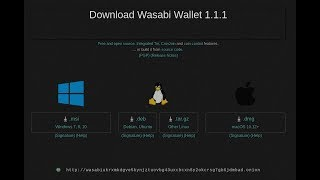 How to Update Wasabi Wallet to v 1.1.1 with Bitcoin Core Integration & Tor Fixes