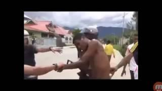 Polisi papua brutal