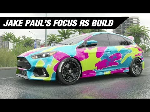 jake paul 39 s rainbow wrapped focus build forza horizon 3. Black Bedroom Furniture Sets. Home Design Ideas