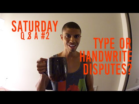 Saturday Q and A #2    Type Disputes?    How To Get Good Credit Cards    Notary?