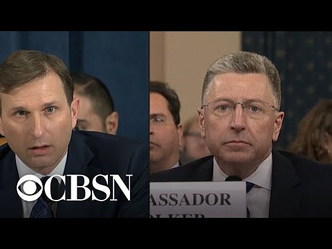 Day 3, Part 14: Staff And Committee Members Question Kurt Volker And Tim Morrison
