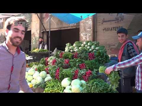 شاهد/ فيديو | أجواء مدينة ادلب السورية في شهر رمضان المبارك..