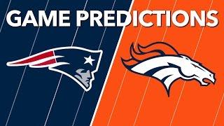 Broncos vs Patriots Predictions