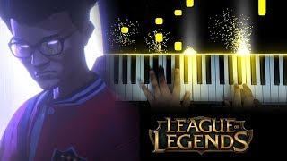 League of Legends - RISE - Worlds 2018 Theme (Piano)