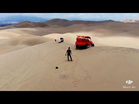 ドローン空撮 南米ペルー 砂漠   DJI Mavic Air Drone desert Aerial