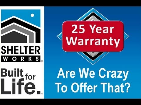 Are We Crazy To Offer A 25 Year Warranty?