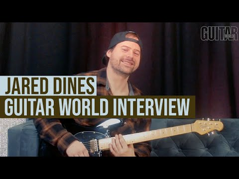 Jared Dines Guitar World interview: first songs, favorite riffs and the future of guitar