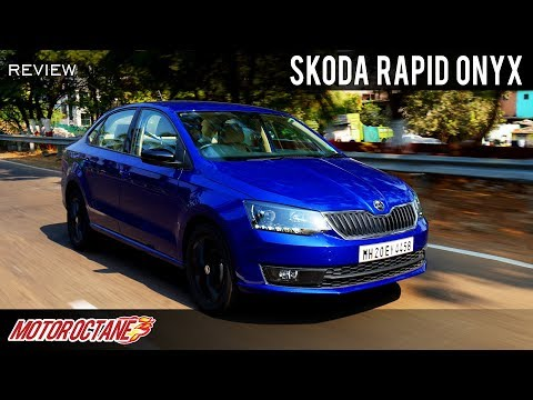 2019 Skoda Rapid Onyx Review | Hindi | MotorOctane