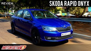2019 Skoda Rapid Onyx Review  Hindi  MotorOctane