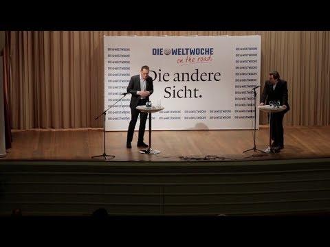 Weltwoche On the Road: Corrado Pardini & Roger Köppel