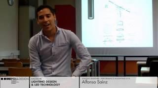 [Lighting Design & Led Technology] Student interview - Alfonso Sainz