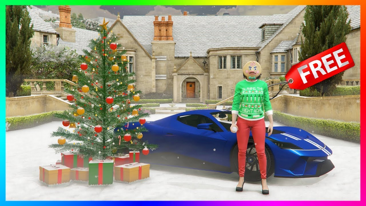 GTA 5 Online Festive Surprise 2019 Christmas DLC Update   SNOW IS