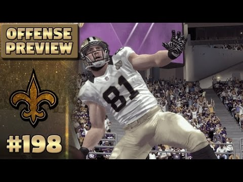 S5 Offense Preview (Pre-Season) | Madden NFL 17 New Orleans Saints Franchise Ep. 198