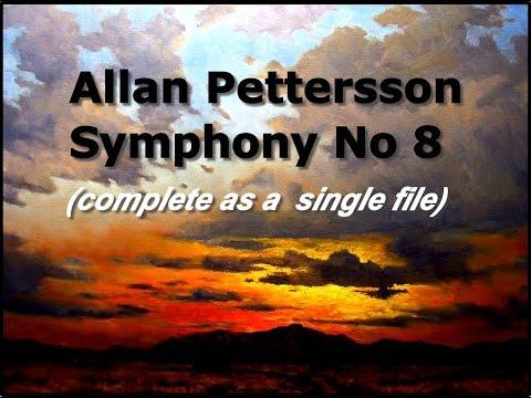 Allan Pettersson, Symphony No 8, complete