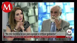 Sobre asilo político a Evo Morales, No comparto postura con el PAN, Diego Fernández de Cevallos