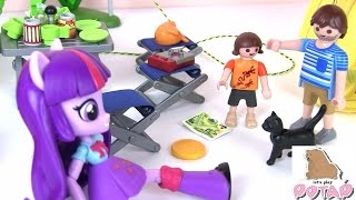 Волшебная Палатка! Поход с Ночевкой. 3я Серия. Игрушки для Детей. Май Литл Пони Мультик