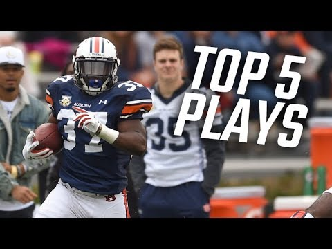 The Top 5 plays from Auburn's ADay Game