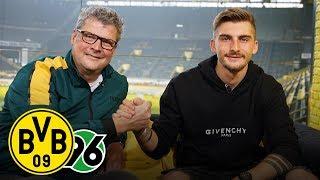 Maximilian Philipp joins BVB Matchday Magazine |Borussia Dortmund - Hannover 96