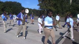 Ribault Middle - Backstabbers 2013-2014 : Raines & Ribault parade