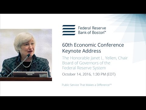 2016 Economic Conference, Janet L. Yellen – Keynote Address