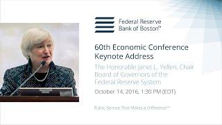 2016 Economic Conference, Janet L. Yellen – Keynote Address